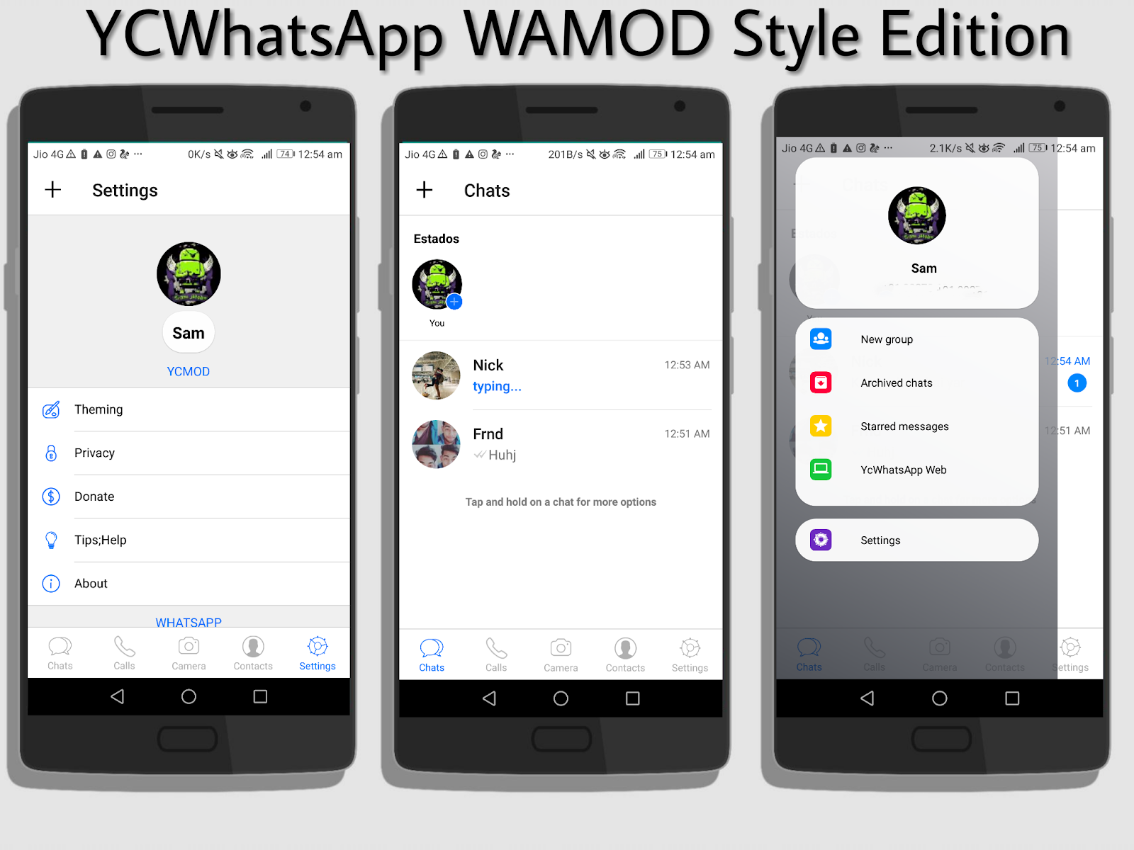 YcWhatsApp APK: Download And Get iPhone WhatsApp Like Feel On Android